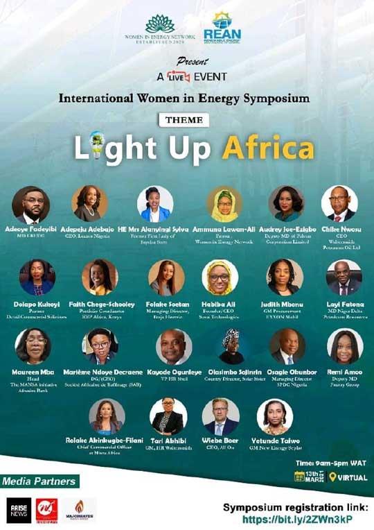 Our Partner, Dolapo Kukoyi, speaking at the International Women in Energy Symposium