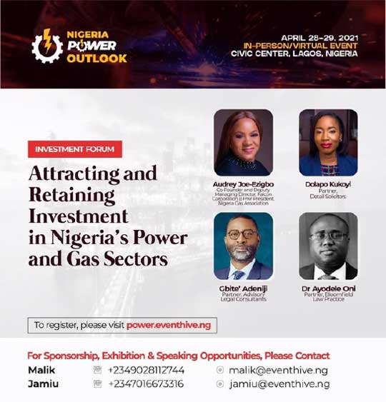 Our Partner, Dolapo Kukoyi, sharing insights at Nigeria Power Outlook Investment Forum