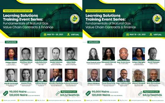 Detail Partners and Associates facilitators at Nigerian Gas Association Learning Training Series