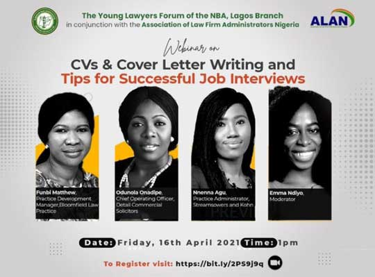 Our Lead Operating Officer, Odunola Onadipe, speaking at NBA Young Lawyers Forum