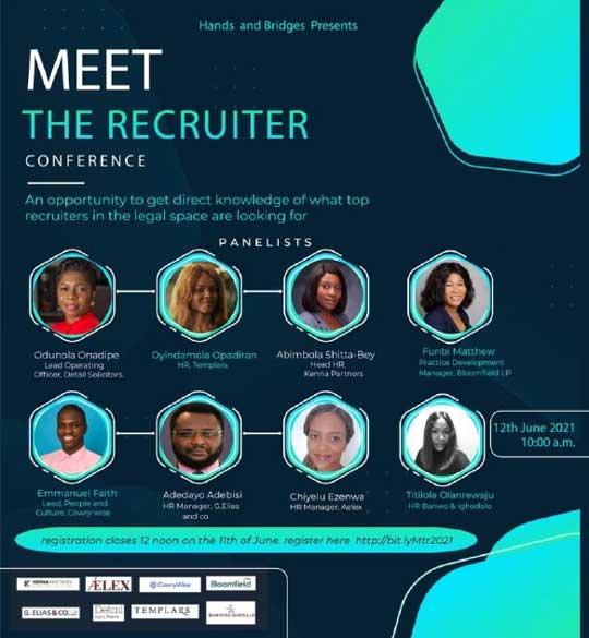 Detail Odunola Onadipe Panelist at Meet The Recruiter
