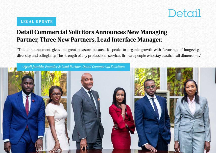 Detail Solicitors Announces New Partners
